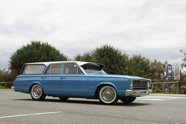 FAMILY WAGON: Growing up Ben's family had a Chrysler Safari Wagon.