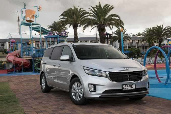 Kia Carnival Si. Photo: Contributed