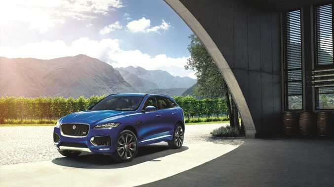 SUV ENTRY: Jaguar expects the 2016 F-Pace SUV to be the second strongest seller in its line-up, behind only the XE small sedan.