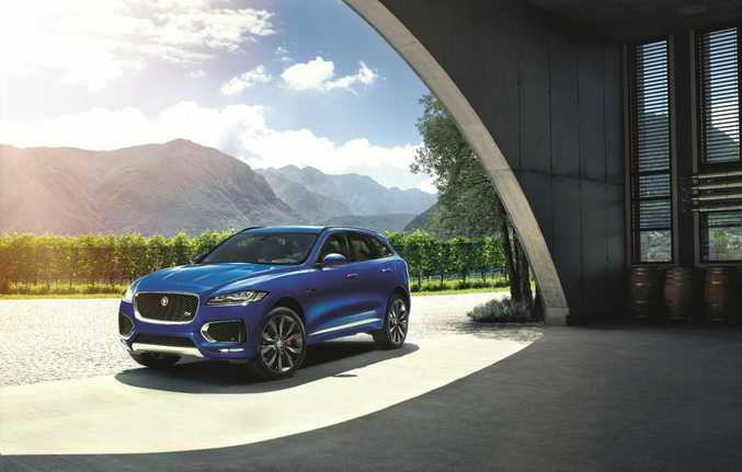 2016 Jaguar F-Pace. Photo: Contributed