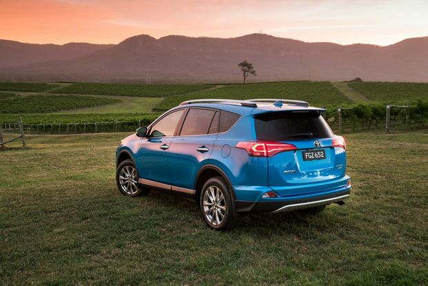 2015 Toyota Rav4. Photo: Contributed.