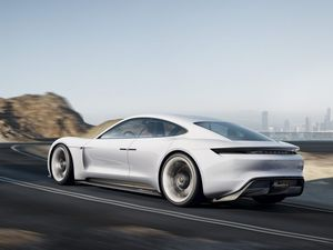 Porsche's ballistic electric mission