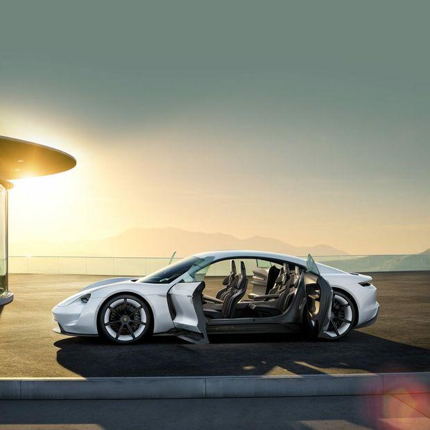 Porsche Mission E. Photo: Contributed