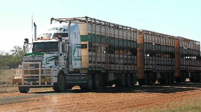 Letter writer Leyland Barnett says allowing road trains easy access direct to the meatworks will reduce operating costs and improve productivity.