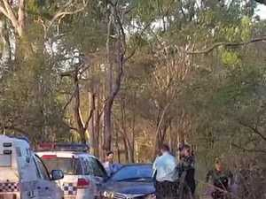 Man tasered after ramming police car near Calliope