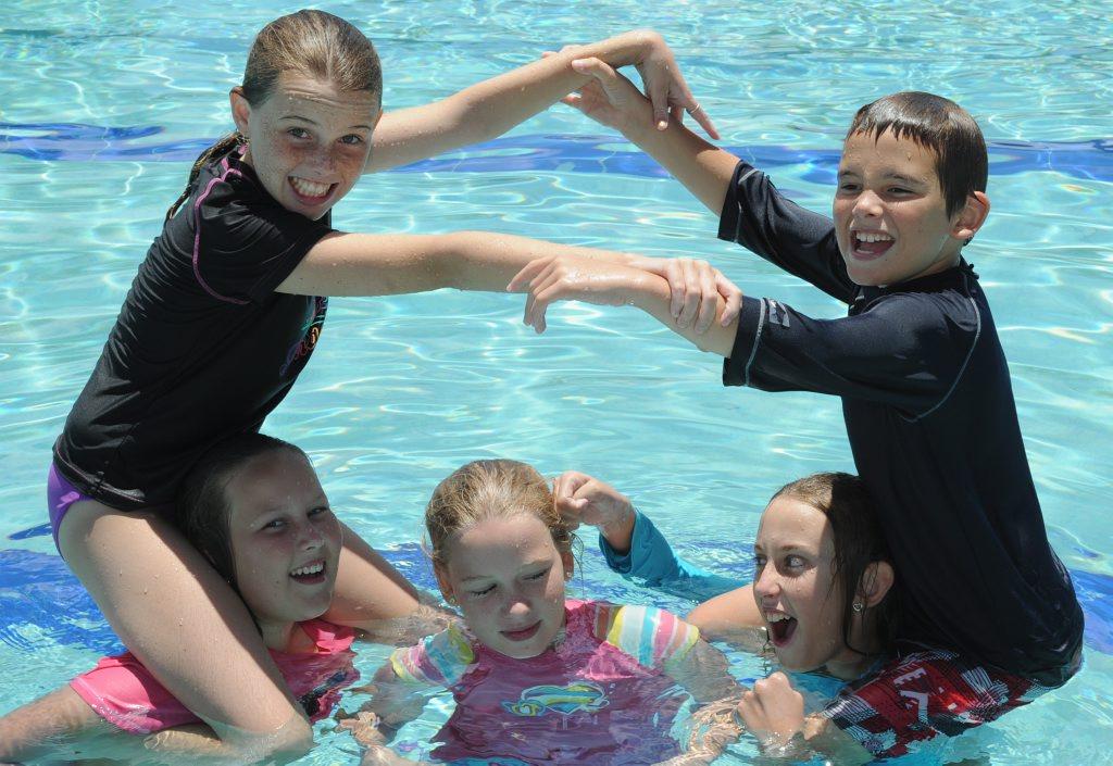 Cool off at the Aquatic Centre