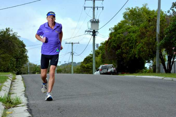 TOP OF HIS GAME: Coolum man John Pearson won the gruelling 240km Coast to Kosciuszko in just under 28 hours at the weekend.
