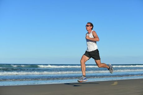 John Pearson, photographed at Coolum Beach, is an ultramarathon runner. Photo: Iain Curry / Sunshine Coast Daily