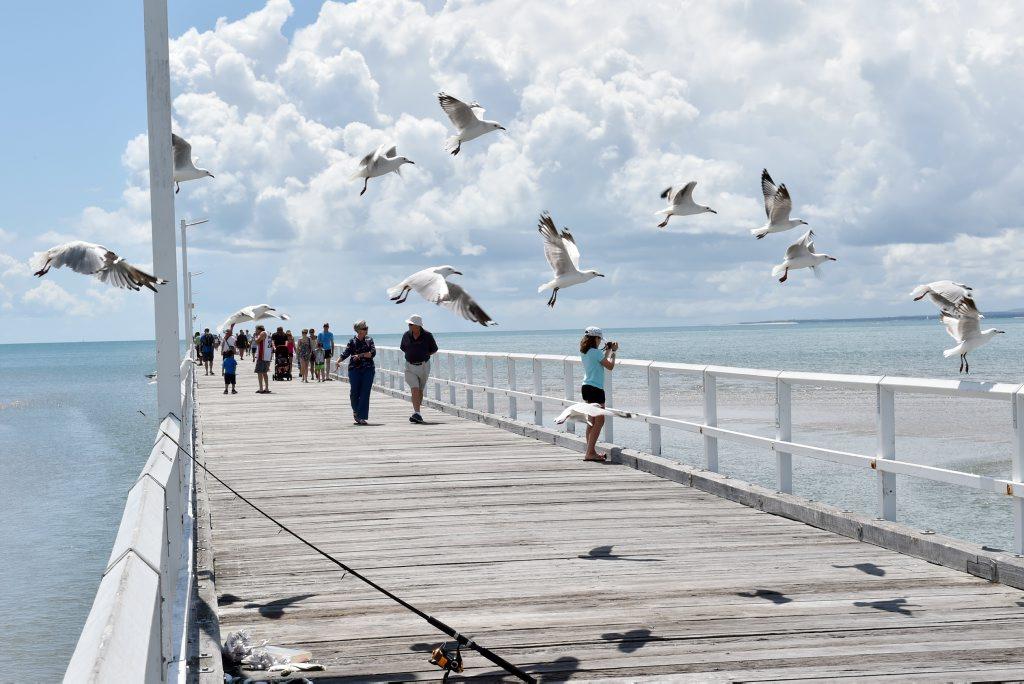 Walk the Urangan Pier
