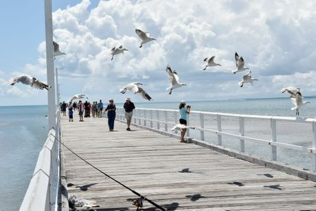 Walk the Urangan Pier