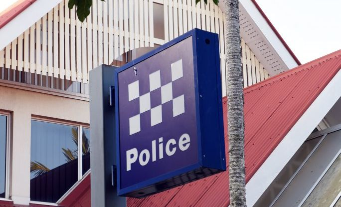 Police have arrested a man on Boat Harbour Dr after he allegedly walked itno traffic and started hitting cars.