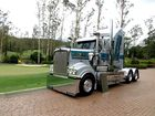 Tony Innaimo Transport's Kenworth T909. Photo Contributed