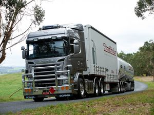 Stylish V8 Scania