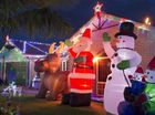 Jason Eade has entered his family's Prime Minister Dr home in the first time entered category of Toowoomba Christmas Lights Competition.