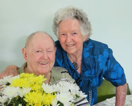 Peter and Heather celebrate 65 years of marriage last month.