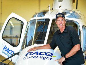 Baker-Finch gives CareFlight a lift