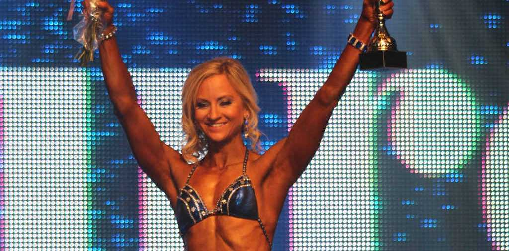 SUPERSTAR: Roma's Edwina Pettiford has claimed several prizes in the Muscle Mania Fitness America Weekend in Las Vegas.