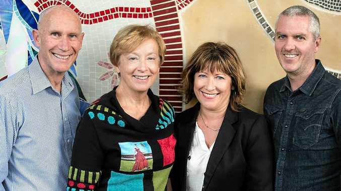 ENOVA: Founding partners Steve Harris, Alison Crook, Melissa Mac Court, Patrick Halliday.