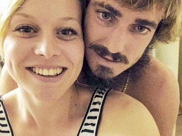 Tamara Mavir and Ryan Battise, formerly of Coraki, died in a car crash in Darwin.Photo Contributed Facebook