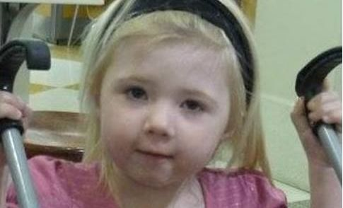 Khandalyce Kiara Pearce, 2, whose remains were found in a suitcase along the Karoona Highway in South Australia
