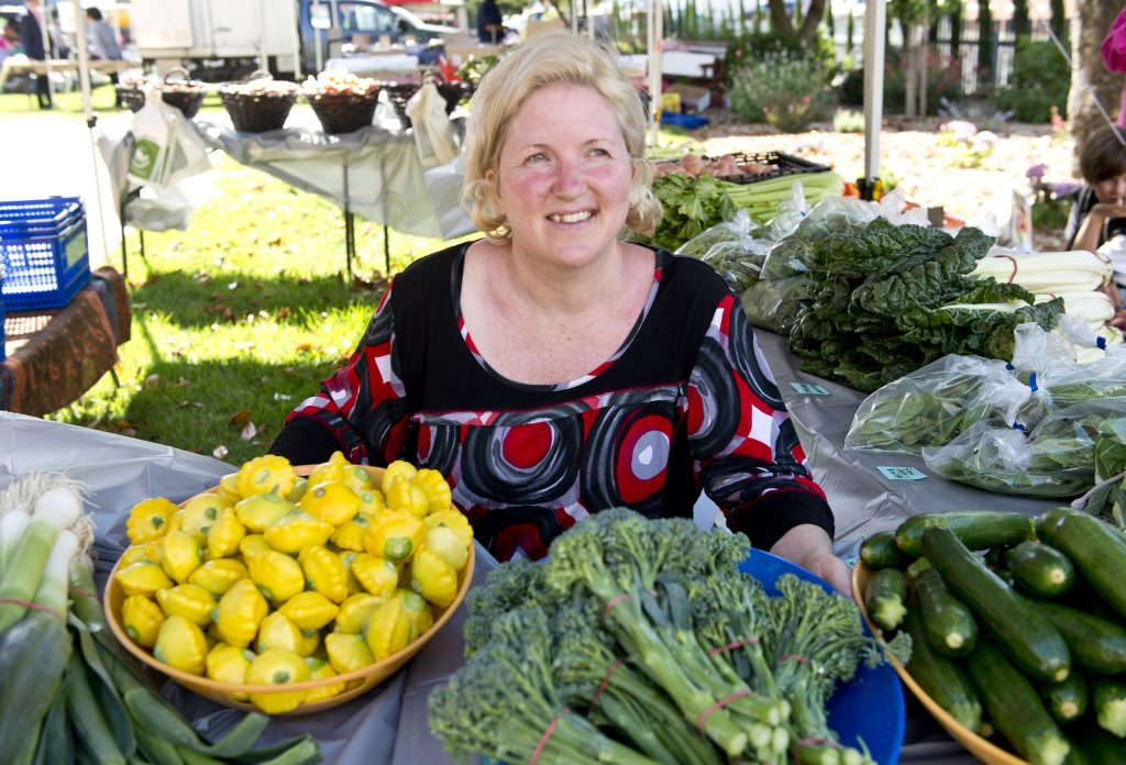 Josie Townsend, manager of the My Local Feast farmers markets at the Empire Theatre .