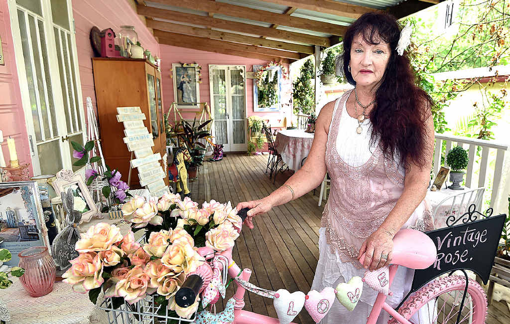 Vintage Rose Cottage Kathy Summers says her small Bauple business won't be able to cope with council's fees.