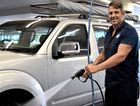 SOAKED: Dreams can happen says Joel Clinton, owner of Mount Pleasant's newest carwash, Magic Hand Carwash.