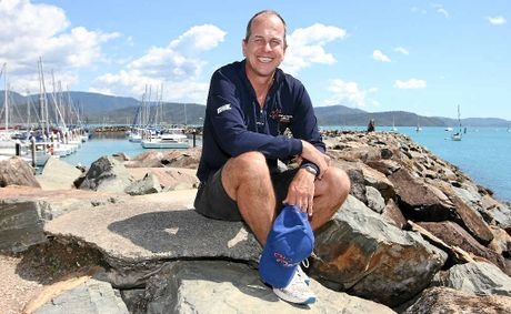 "FREE AT LAST: Peter Greste was able to ""close the loop"" on 400 days in an Egyptian jail by bringing his family on a bareboat holiday to the Whitsundays. Photo Sharon Smallwood"