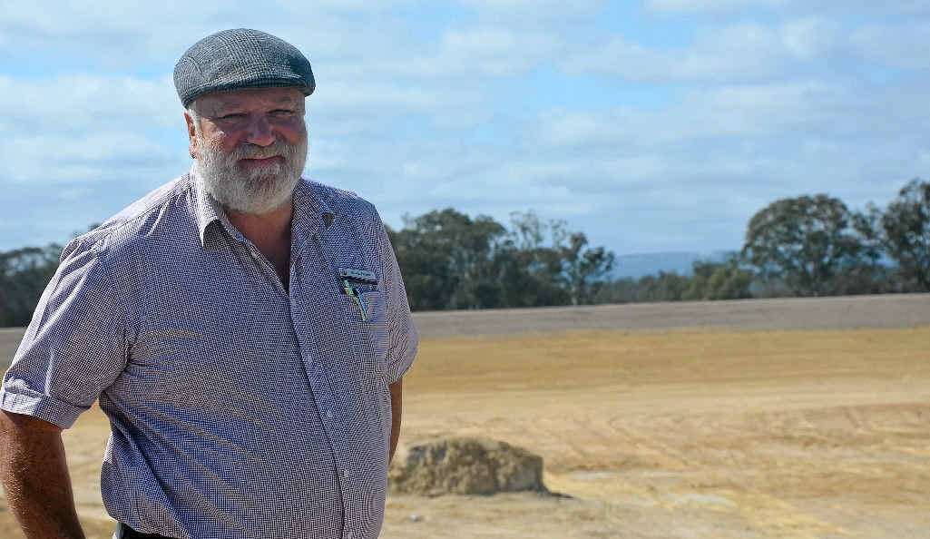 KEEP IT FLOWING: Cr Vic Pennisi is urging the council to source funding opportunities for Emu Swamp Dam.