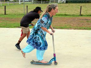 Woodenbong skates it's way into the hearts of local youth