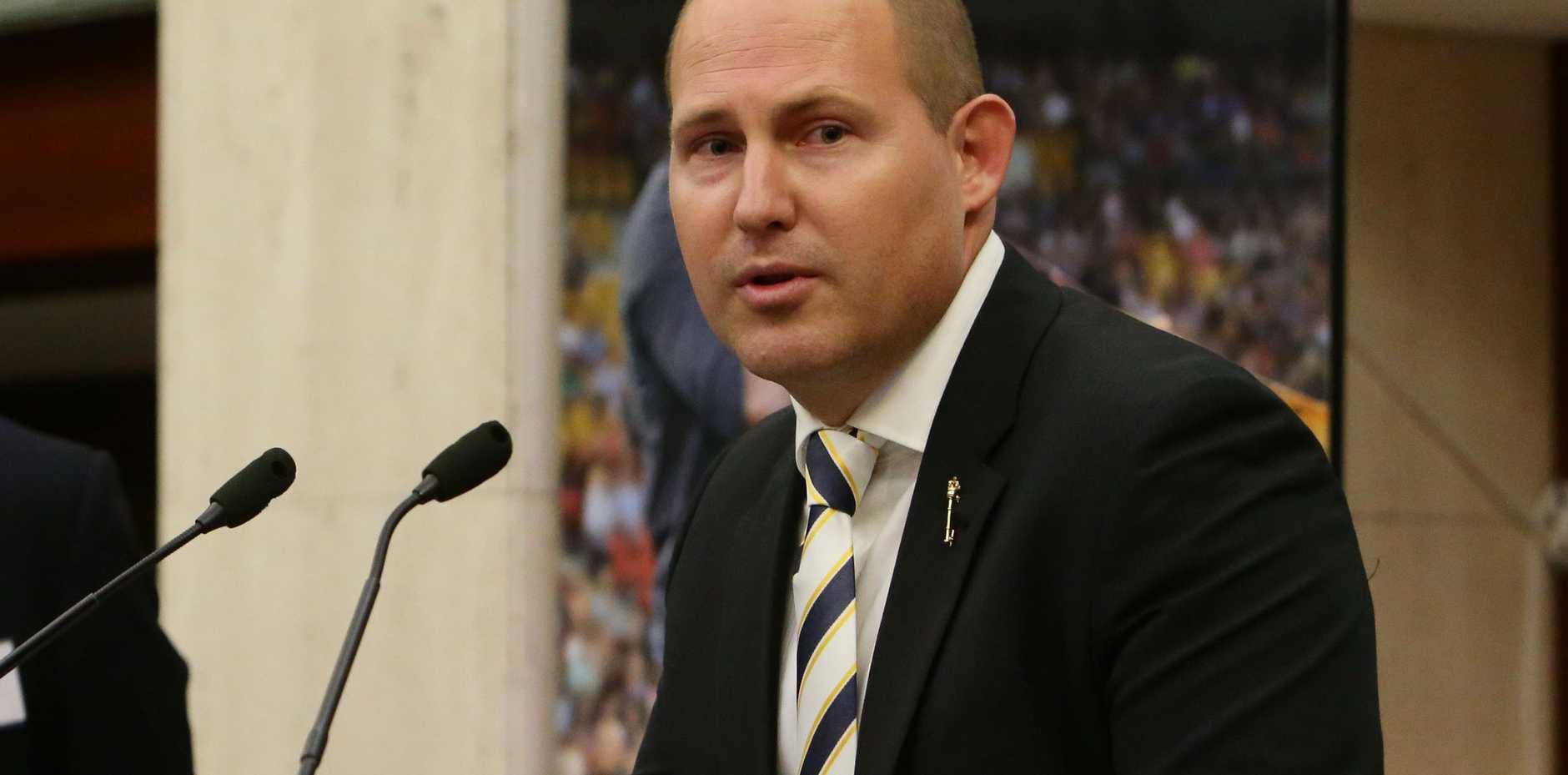 Queensland Treasurer Curtis Pitt says we've been forgotten.