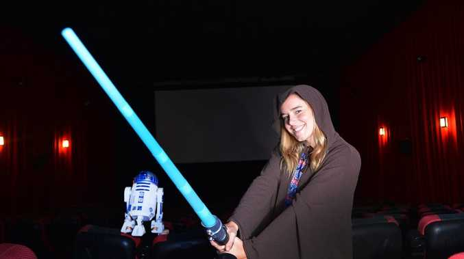 THE WAIT IS OVER: Jaidyn Lorensen is excited about the new Star Wars movie.