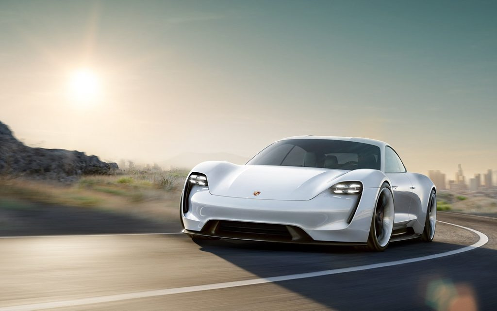 Porsche Mission E. Photo: Contributed