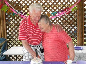 Three parties in one for birthdays, wedding milestone