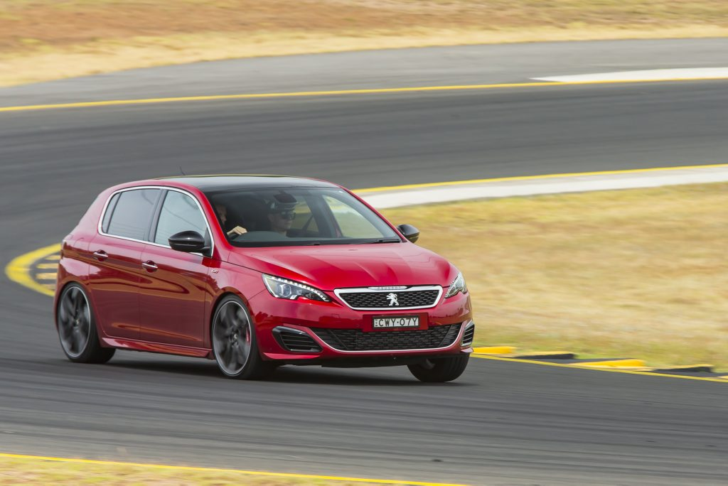 TRACK BLAST: 200kW Peugeot 308 GTi 270 is tested around Eastern Creek, proving to be a composed and easy-to-drive performance hatch with plenty of smarts.