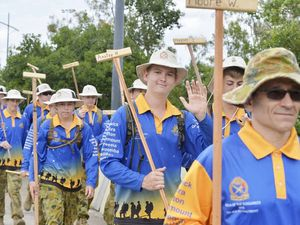 Finish line beckons for cadets march to honour Dunagrees