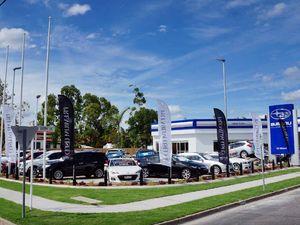 DC Motors opens new Subaru Showroom in Rockhampton.