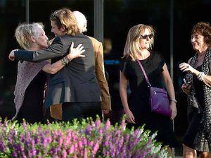 Friendly Keith Urban farewells dad in Caloundra