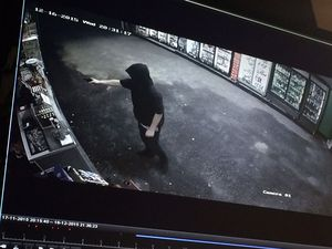 """You call that a gun?"" Pub owner tackles would-be robber"
