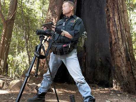 Yowie hunter Dean Harrison
