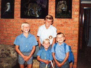 'Always a hero to me': Mick Fanning pays tribute to brother