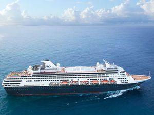 Cruise ship Pacific Eden drops anchor at Mooloolaba tomorrow