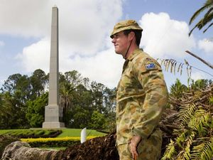 Byrne welcomes $50,000 restoration of Rocky War Memorial