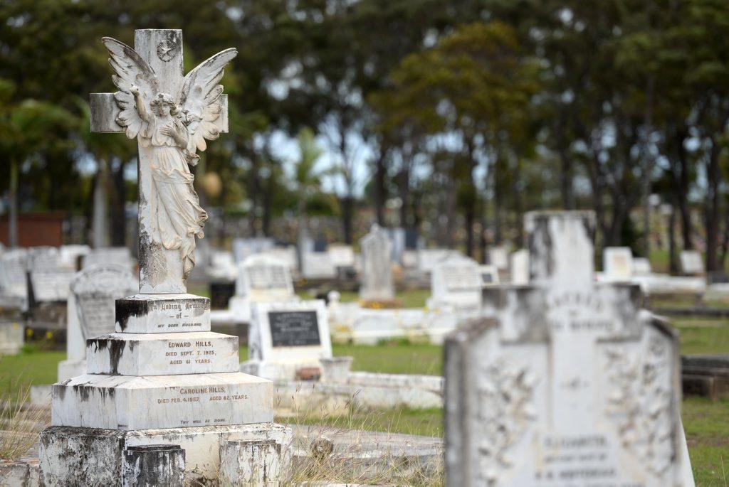 Bundaberg General Cemetery. Photo: Mike Knott / NewsMail