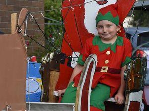 Glennie St's Cecil Snow is Santa's biggest little helper
