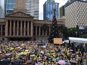 Rally for Allison Baden-Clay held in Brisbane