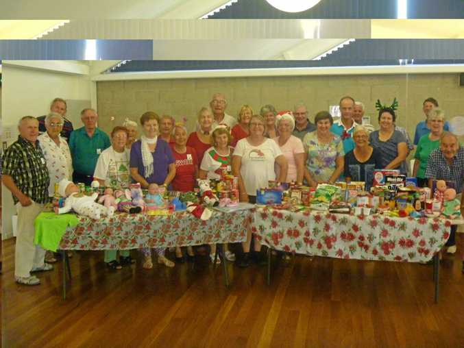 PLENTIFUL: The Orphan's Christmas lunch is shaping up to be quite the festive feast thanks to a large donation from the Coffs Harbour Senior Citizens Club this week.