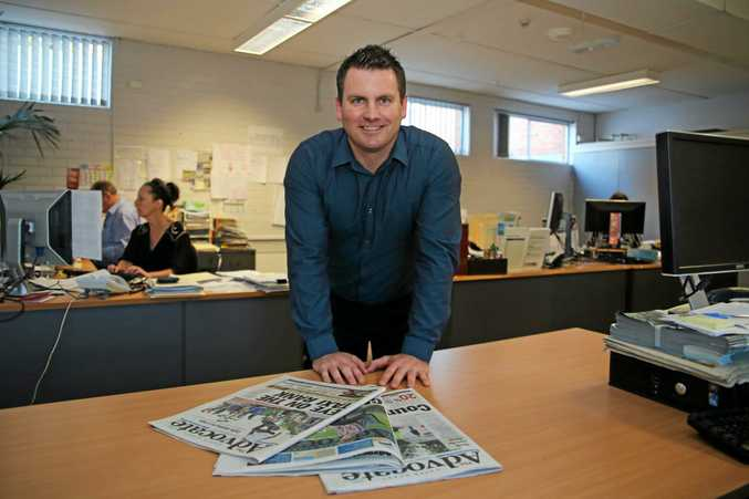 GOOD YEAR: General manager of the Coffs Coast Advocate David Box.