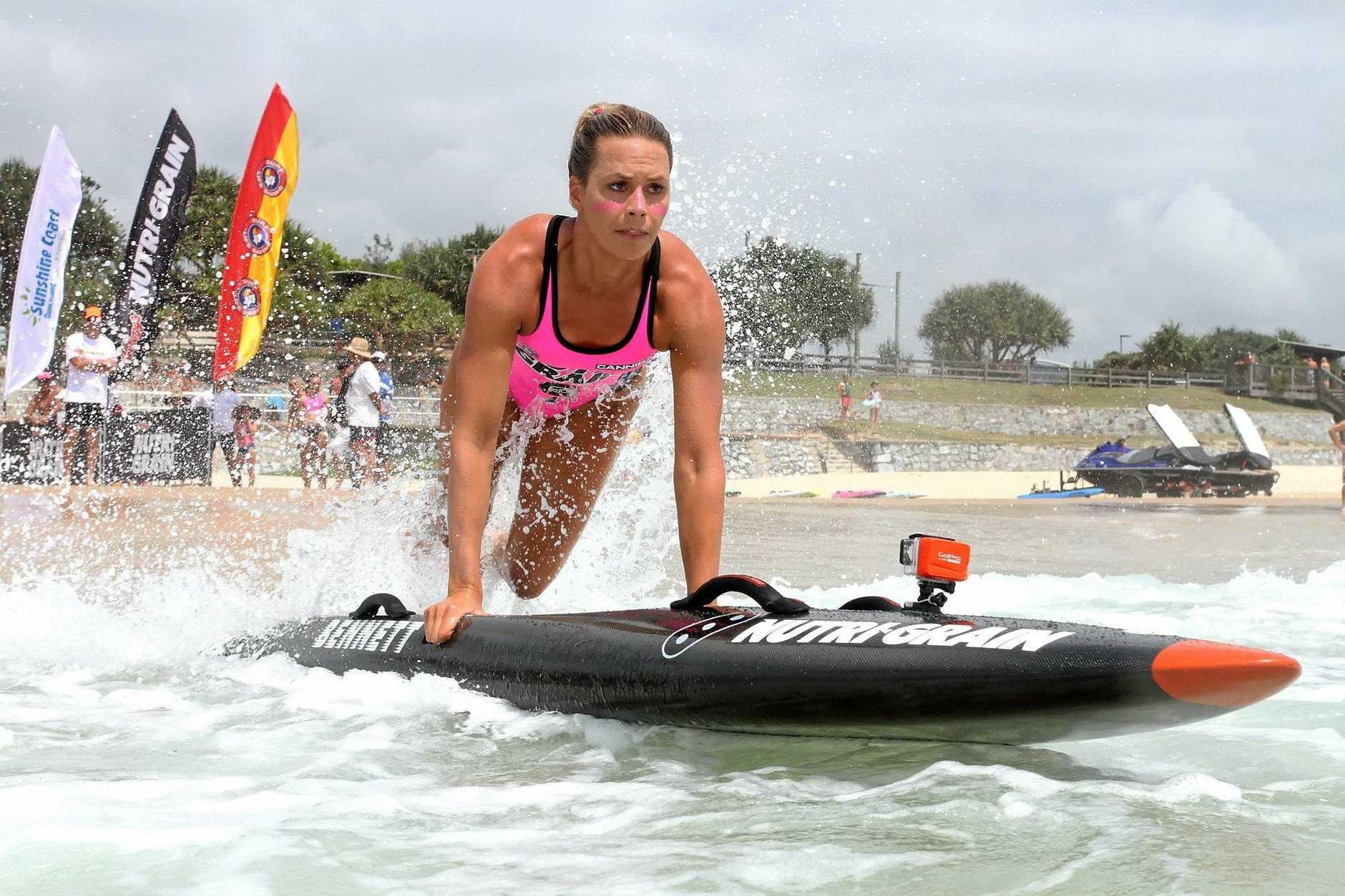 BETTER DAYS: The Coolum round was a blowout for Courtney Hancock.