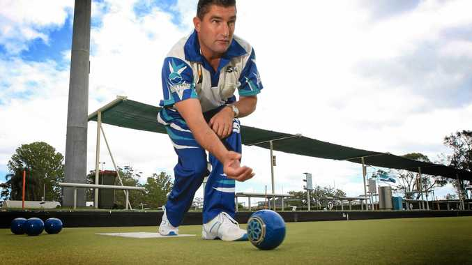 ON A ROLL: Former world No 1 Kelvin Kerkow will be one of 128 bowlers in the Summerland Singles at Ballina.